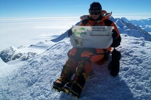 Coco Popescu - Antarctica - Mt.Vinson