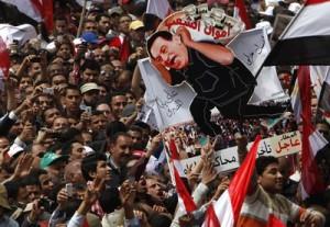 Nouă demonstraţie în Egipt