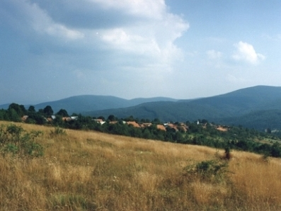 Gărâna - satul din munţi