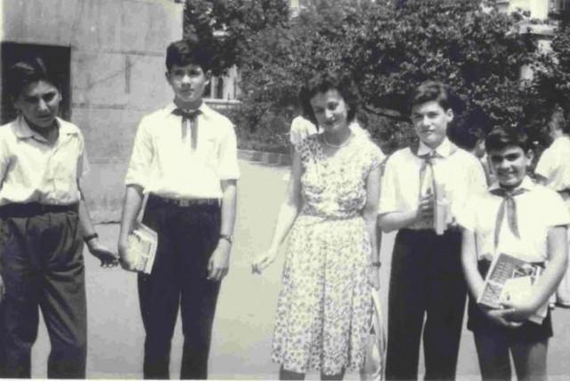 Horia Lempp, Mike Vasilescu, Dna Lucia Atanasescu, Dan Safran, Andrei Pleşu