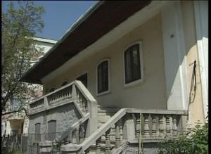 Sinagoga din Hârlău, vedere laterală