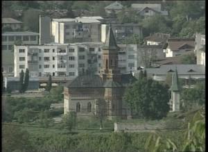 Hârlău, vedere de pe dealul Zagavia
