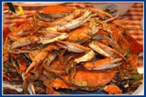 Poftiti la crabi !
