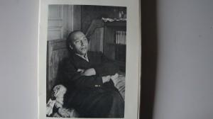 Ultima fotografie a lui Ilarie Voronca, 1945