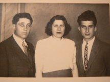 Familia Blei, după revenirea din Transnistria
