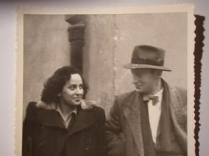 Soţii Regnier în timpul războiului, la Cluj