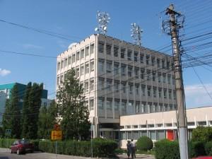 Clădirea Centrului Teritorial de Calcul Cluj, în anii 1970
