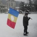 Steagul revoluţiei e din nou în stradă - foto. Matei Mircioane