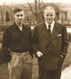 Steven şi Max Auschnitt -  aprox. 1938 - 39 sursa: metropotam.ro
