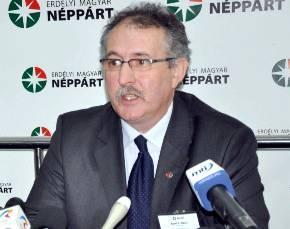 Toró T. Tibor, preşedintele PPMT - sursa foto. evz.ro