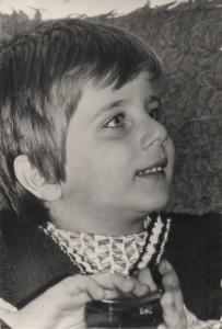 Fiul meu Vali, in clasa I-a primara