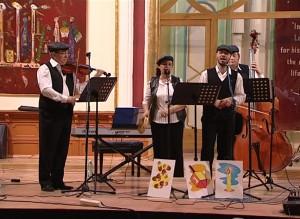 Mazel Tov concertand de Hanuka, in sinagoga din Bistrita