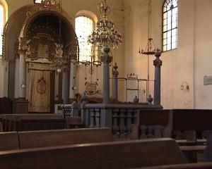 Interiorul sinagogii din Alba Iulia