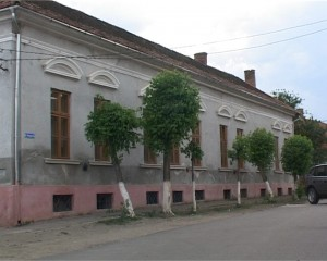 Fosta clădire a yeshivei din Şimleu Silvaniei, unde s-a amenajat Centrul de Studiere a Holocaustului