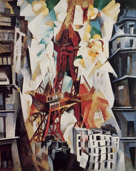 Robert Delauney-Eiffel Tower-1914