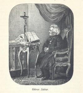 Zachar Gabrus, aşa cum apare în monografia lui Kristóf Szongott