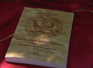 Kristóf Szongott: Oraşul liber regal Gherla (1700 - 1900), metropola armeano-maghiară - carte lansată la Gherla în 23 iunie
