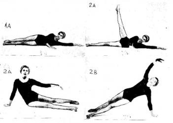 Exerciţii pentru tonificarea pulpelor şi a coapselor