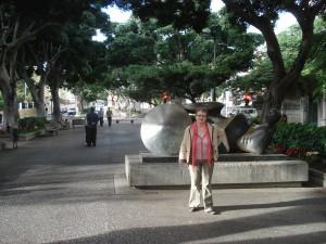 Sculpturi pe bulevard - Santa Cruz