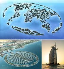 Insule construite in Dubai