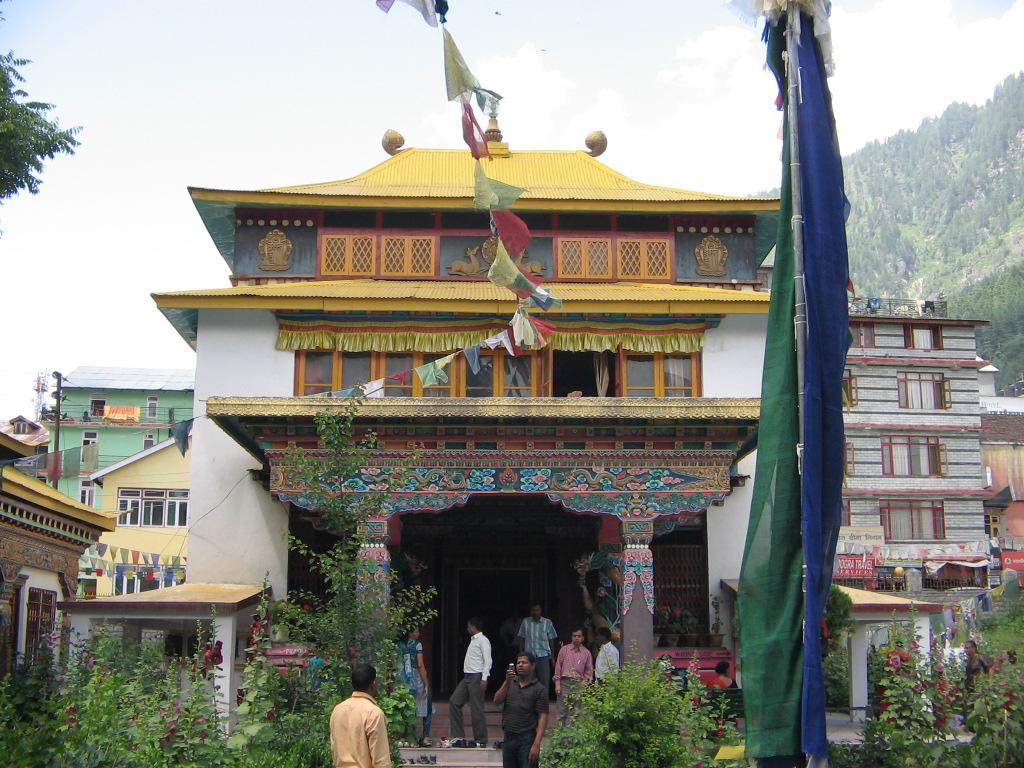 manastire tibetana - Manali1
