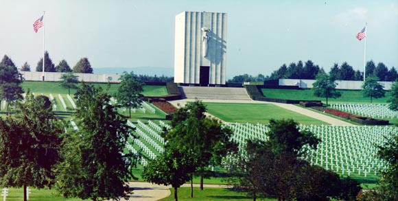 Cimitirul american Lorraine, Franta... 10.489 de soldati americani si-au dat viata