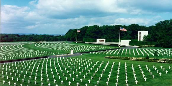 Cimitirul american de la Luxembourg, Luxembourg... 5.076 de soldati americani si-au dat viata