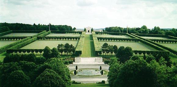 Cimitirul american din Meuse-Argonne, Franta...14.246 de soldati americani si-au dat viata in primul razboi mondial