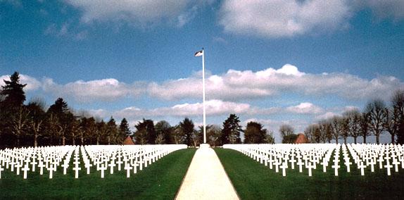 Cimitirul american din Somme, Franta...1844 de soldati americani si-au dat viata