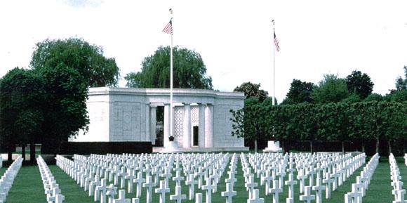 Cimitirul american din St. Mihiel, Franta... 4.153 de soldaţi americani au pierit