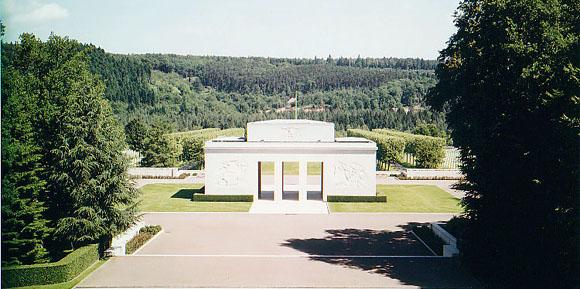 Cimitirul american de la Epinal, Franta...5525 de soldati americani si-au dat viata