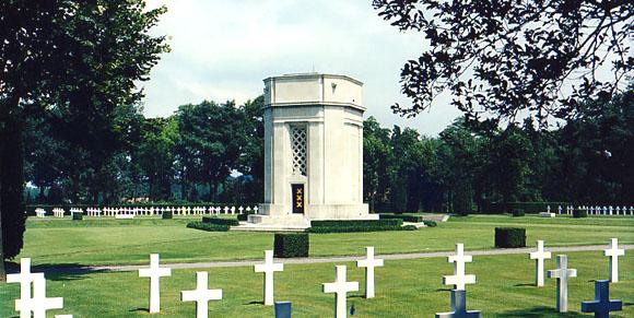 Flanders Field, Belgia...368 de soldati americani inmormintati