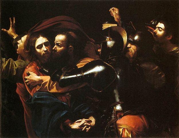 Caravaggio, Arestarea lui Isus