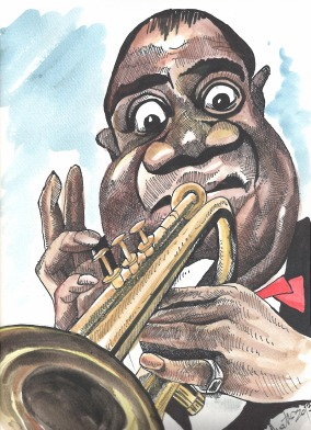 Eduard Mattes: Louis Armstrong