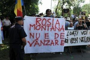 Manifestatie Rosia Montana