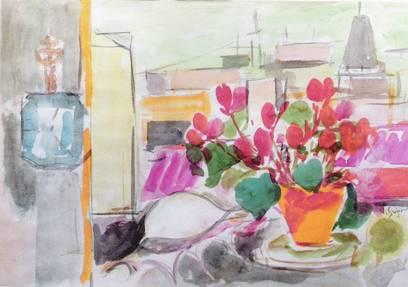 Vasile Grigore, În atelier