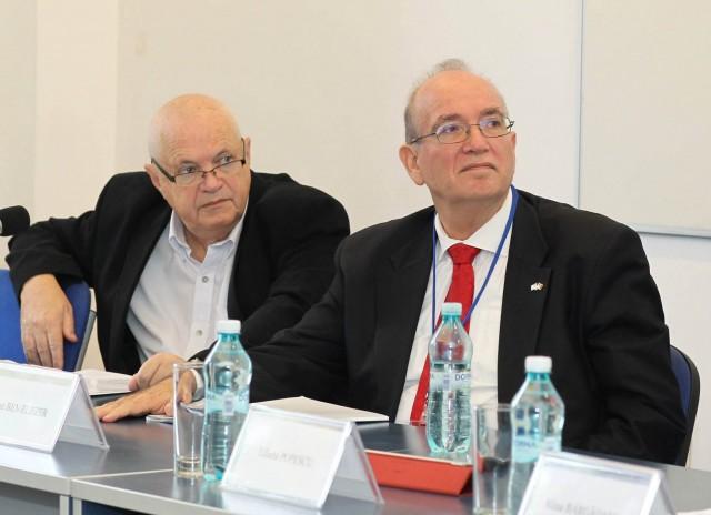 Liviu Rotman si Ambasadorul Dan Ben Eliezer